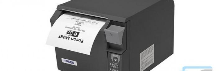 POS pisač TM-T20II jedan je od cjenovno najpovoljnijih Epsonovih pisača za račune i dizajniran je za početak rada izravno iz originalnog pakiranja