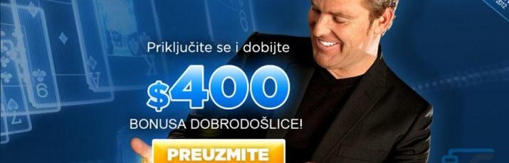 Zaigrajte poker i uzmite čak do 400 dolara bonusa