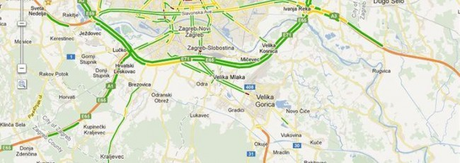 Usluga prikaza stanja u prometu sada dostupna i u Hrvatskoj