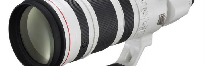 Canonov sustav EOS dobiva novi objektiv velike maksimalne žarišne duljine i to iz serije L, koja podrazumijeva konstantni najveći otvor blende, odnosno najveći mogući otvor blende je f/4, bez obzira o žarišnoj duljini/zumu