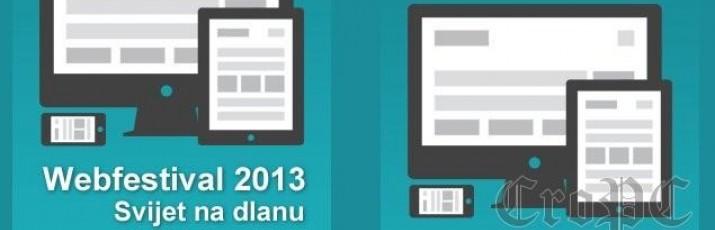 Hrvatska akademska i istraživačka mreža – CARNet pokrenula je novo, četrnaesto po redu nagradno natjecanje autora web sadržaja – Webfestival 2013