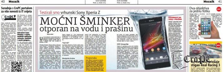 Počevši od danas, pa svaki slijedeći petak u Glasu Slavonije čitajte najzanimljivije vijesti, testove, osvrte i druge sadržaje sa portala CroPC
