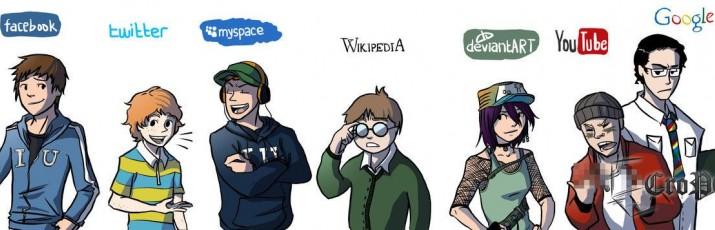 Dečki s Cracked.com okupili su ekipu i snimili video zapis koji nam prikazuje kako bi se ponašale internet stranice u stvarnom svijetu, kao ljudi