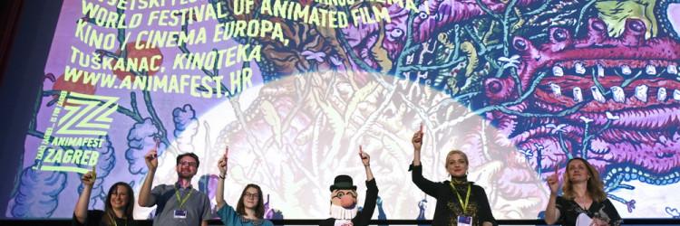 Nakon predstavljanja članova žirija, ceremonija, koju je u režiji Marija Kovača scenografski obilježila proslava 50. obljetnice serije Profesor Baltazar