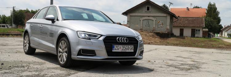 A3 nam je stigao u varijanti punog naziva Audi A3 Limousine 1.6 TDI Design+