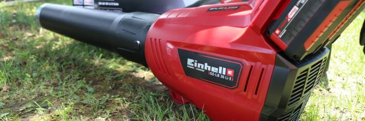 Einhell GE-LB 36 Li E-Solo je puhač lišća koji za svoj pogon koristi električni motor i baterijski sustav