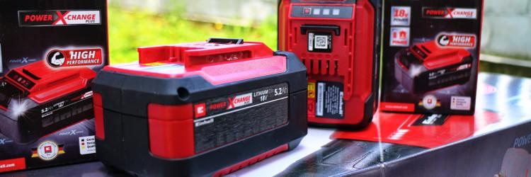 Einhell 18V 5,2 Ah PXC Plus predstavlja najnapredniju i najveću bateriju iz Einhella