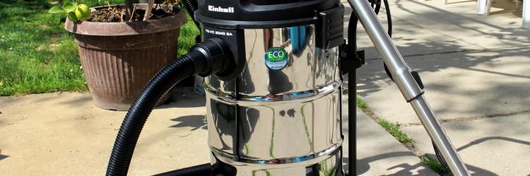 Uz Einhell TE-VC 2340 SA moguće je usisavati i mokro (vlažnu nečistoću, vodu, itd.) i suho (prašina, građevinski materijal, itd.)