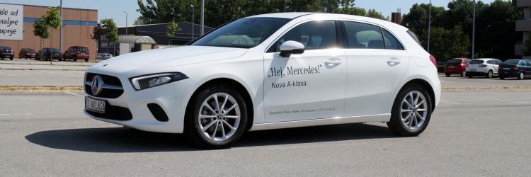 Točno 3 godine nakon što smo vozili zadnji model, sjeli smo za upravljač ovog najnovijeg modela Mercedes-Benz A180d