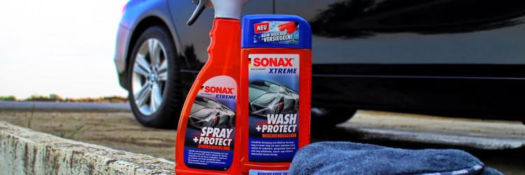 Sonax, kao lider u proizvodnji auto kozmetike, osmislio je i na tržište lansirao dva svoja proizvoda koja će vam pranje i nanošenje zaštite na automobili učiniti perolakim, možemo reći i zabavnim