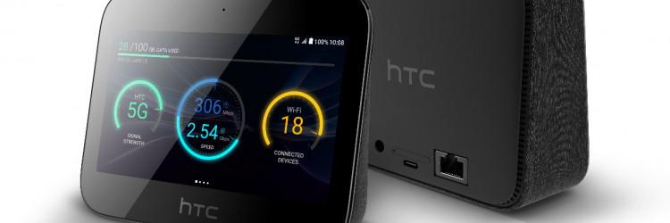 HTC 5G Hub omogućuje korisnicima da koriste 5G na višestrukim uređajima u pokretu, na poslu ili kod kuće za brzo povezivanje, dijeljenje sadržaja, zabavu i drugo
