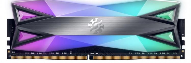D60G nudi više RGB osvjetljenja po četvornom milimetru od bilo kojeg drugog dostupnog memorijskog modula, što odgovara više od 60 % površine modula