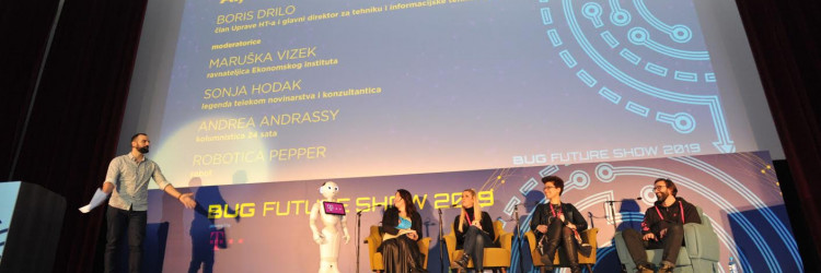 Ovogodišnji Bug Future Show ima i četiri keynote predavača, među kojima osobitu pozornost izaziva data scientist i problem solverdoc. dr. sc. Roberta Kopal