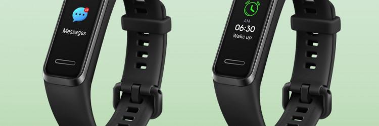 Huawei Band 4 ima odvojivo kućište s ugrađenim USB sučeljem, stvarajući jednostavno rješenje za punjenje, dok je sam sat savršeno dizajniran u elegantan pojas ručnog zgloba osiguravajući udobno nošenje