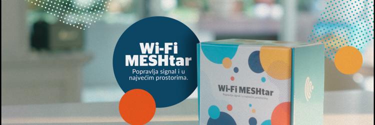 Kao što mu ime sugerira, MESHtar je tu da, kao napredno rješenje, mesh tehnologijom popravi sve situacije u domovima i uredima na koje ne možemo utjecati (ili bi to bilo jako skupo!), a koje onemogućuju ravnomjerno širenje Wi-Fi signala i stvaraju tzv. mrtve zone u prostoru