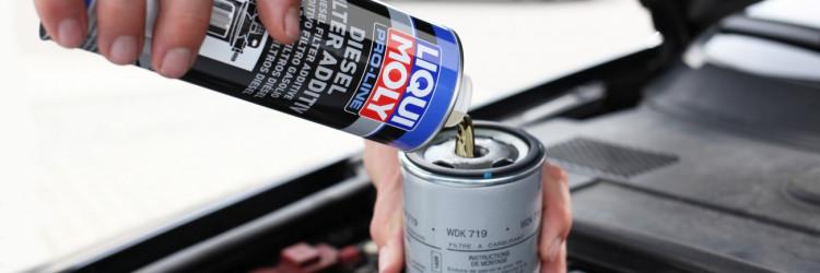 Liqui Moly Pro-Line diesel filter additive donosi snažnu koncentraciju aktivnih tvari koje će očistiti i dugotrajno zaštiti sustav opskrbe goriva