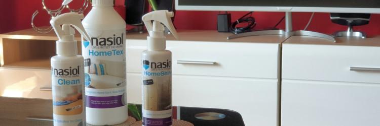 Paket nazvan Nasiol home care set obuhvaća tri proizvoda: Nasiol HomeTex, Nasiol HomeShine i Nasiol Clean