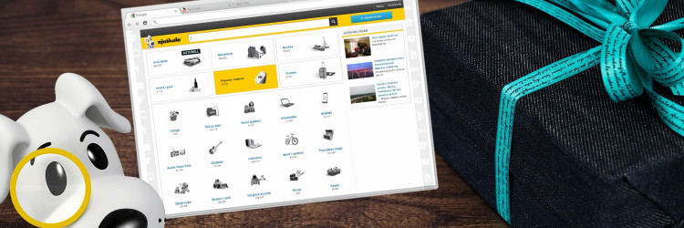 Njuškalo je najveći i najpopularniji internetski oglasnik u Hrvatskoj koji svakodnevno spaja stotine tisuća kupaca i prodavatelja