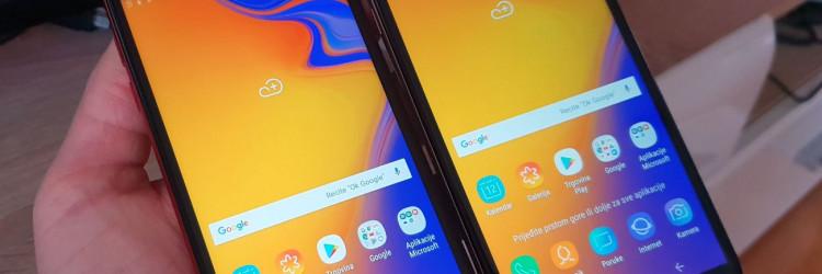 Upravo među ulazne modele renomiranog proizvođača kao što je Samsung ulaze testirani modeli Samsung Galaxy J4+ i J6+