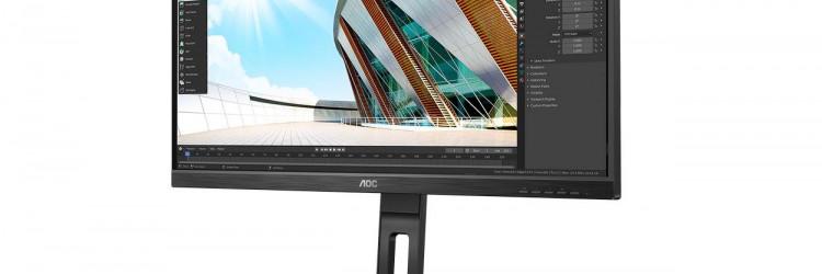 U32P2 ima jednostavan dizajn na kojem se okvir ne vidi kada je monitor isključen
