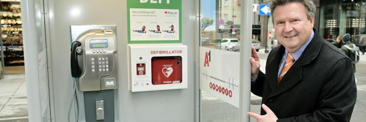 Defibrilatori u telefonskim govornicima bit će na raspolaganju 24 sata dnevno, a odgovarajuće će oznake upućivati na to gdje se točno nalaze