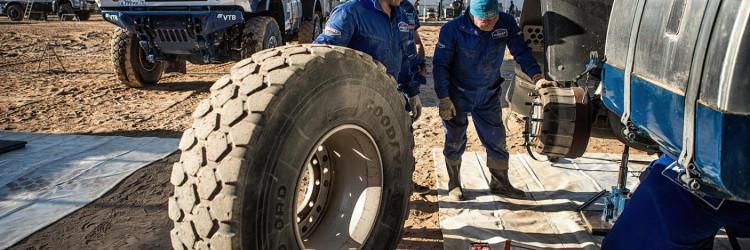 Goodyearove standardne gume OFFROAD ORD su na ovogodišnjoj posve novoj trasi stavljene na veliku kušnju