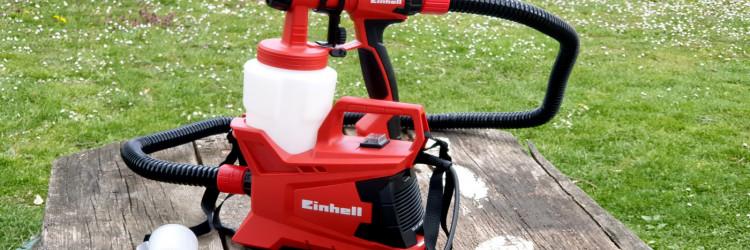 Njemački proizvođač alata Einhell nudi sistem za nanošenje boje Einhell TC-SY 600 S