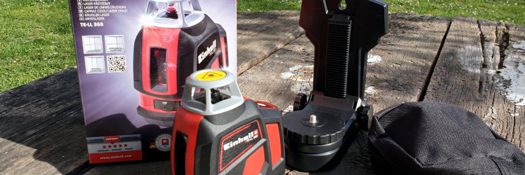 Einhell TE-LL 360 kao i svi alati, uređaji i drugi proizvodi ovog njemačkog proizvođača stiže u privlačnom pakiranju na kojem će nam odmah biti jasno čemu ovaj proizvod služi i koja mu je namjena
