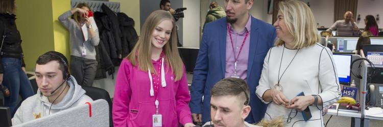 Hrvatski Telekom krajem je protekle godine zaposlio čak 166 novih djelatnika u pozivnom centru u Osijeku