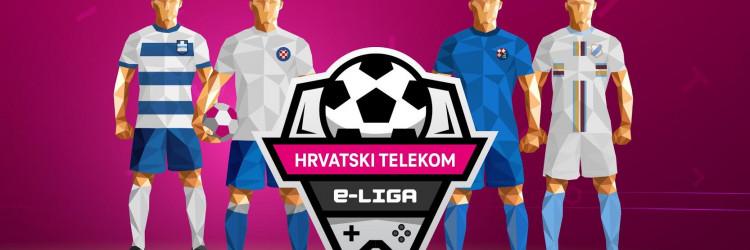 Hrvatski Telekom, kao dugogodišnji sponzor hrvatskog nogometa, pokrenuo je e-Ligu u kojoj igrači odmjeravaju snage igrajući FIFA 21 na PlayStation 4 konzoli, i to u ime svojih omiljenih hrvatskih klubova - Dinama, Hajduka, Osijeka i Rijeke