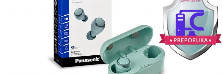 Panasonic RZ-S300W kvalitetom zvuka nadmašuju brojne žične, bežične, a posebice potpuno bežične slušalice