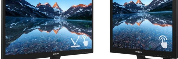 Dva nova monitora imaju HDMI priključak koji osigurava univerzalnu digitalnu povezivost, dva USB 3.1 utora za brzi prijenos podataka i DisplayPort vezu
