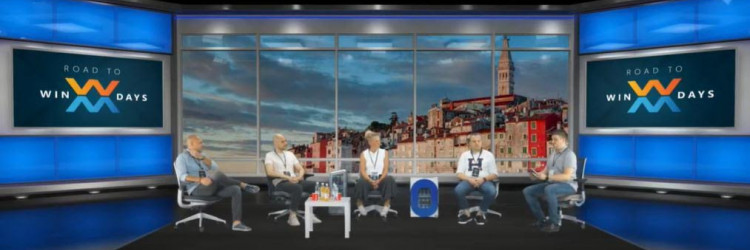 Program se emitirao iz WinDays studija u zagrebačkom Mozaik Event Centru