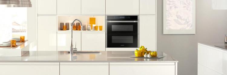 Samsung Dual Flex Cook Oven pećnica zaista će biti ta mala tvornica sreće jer uz naprednu tehnologiju omogućuje pripremu dva jela – istovremeno!