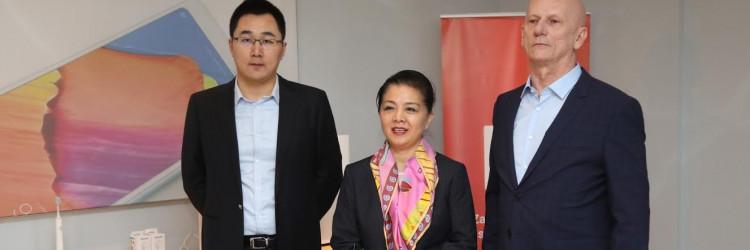 Navedeni susret bio je izvrsna prilika i za predstavljanje Xiaomi 5G pametnih telefona na testnoj 5G mreži