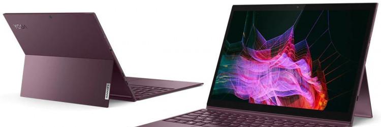 Yoga duet 7i pokreću procesori desete generacije do Intel Core i7 s grafikom Intel Iris Plus i sustavom Windows 10