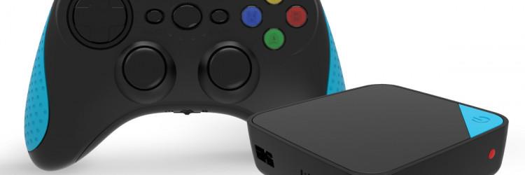EMTEC Gembox TV Android dolazi s igraćim kontrolerom koji se na samu konzolu povezuje bežično