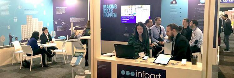 Kroz 29 godina postojanja Infoart se bavi razvojem vlastitih poslovnih rješenja kao što su ERP, maloprodaja, upravljanje ljudskim resursima i mobilno plaćanje
