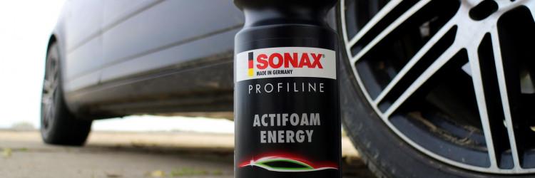 Sonax Profiline ActiFoam Energy je aktivna pjena koja nam služi za predpranje automobila