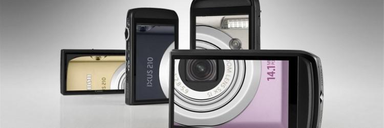 Za izvrsne snimke dovoljan je dodir: Canon predstavio ultra elegantan model IXUS 210