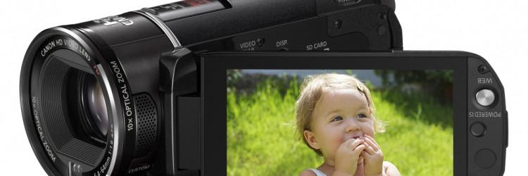 Canon obogatio liniju LEGRIA novim HD i SD kamerama s flash memorijom