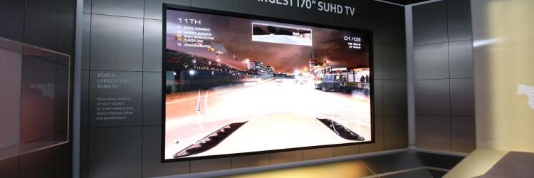 Samsung je na ovogodišnjem sajmu osvojio 38 CES 2016 nagrada za inovacije, uključujući i onu za najbolju inovaciju za TV prijamnike