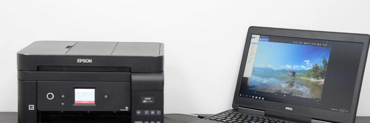 Dimenzija pisača nešto je veća od tuceta papira (pet puta po 500 listova) kojeg gotovo svatko ima u uredu