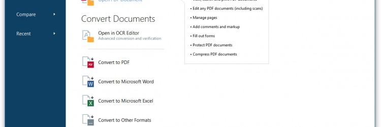 FineReader 15 diči se još preciznijom analizom i pretvorbom tablica, boljim automatskim označavanjem kod PDF i PDF/UA kreiranja te boljom detekcijom zaglavlja i podnožja