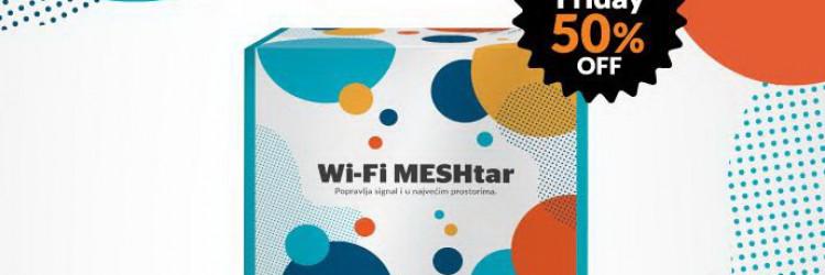 MESHtar radi na mrežama svih operatora i nema ugovornu obvezu, omogućuje 100% signala i najstabilniju mrežu u baš svakom prostoru