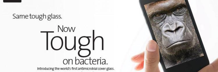 Corning je na CES-u predstavio još jedno izdanje Gorilla Glassa, koji osim fizičke nudi i antibakterijski zaštitu