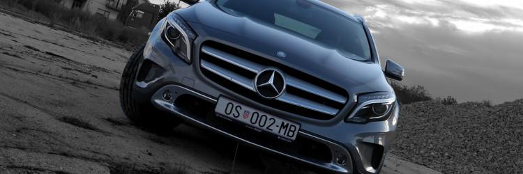 Sjeli smo za volan Mercedes-Benz GLA 200 CDI, crossovera koji donosi poseban  i jedinstven Mercedes-Benz osjećaj i za povremene izlete van asfalta