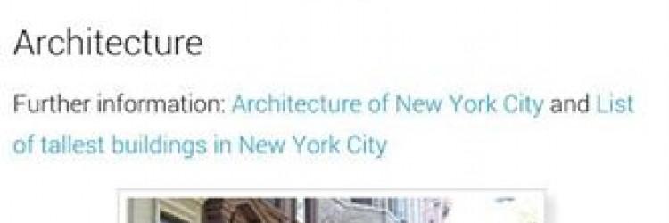 Trebate li neko informaciju, vrlo vjerojatno ćete pogledati na Wikipediju, a ova aplikacija služi upravo pretraživanju ove online enciklopedije