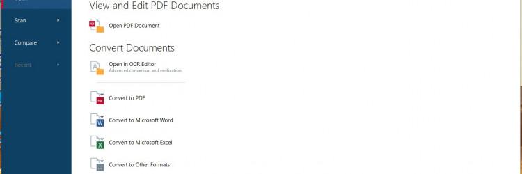 """OCR kao skraćenica od """"Optical character recognition"""" ili """"Optical character reader"""" u suštini predstavlja tehnologiju prepoznavanja otisnutih dokumenata i njihovu digitalizaciju, tj. pretvorbu u neki oblik digitalnog dokumenta kojeg je moguće uređivati."""