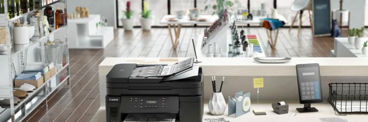 Oba pisača dolaze s punjivim spremnicima tinte, pa korisnici mogu ispisati do 18 000 stranicas 3 bočice crne tinte ili do 7700 stranica uz komplet tinti u boji (samo u slučaju modela Canon PIXMA G7040)